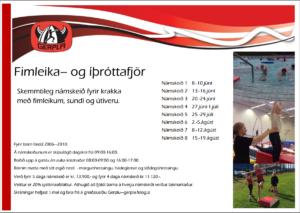 Fimleika- og íþróttafjör